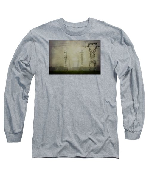 Power 5. Long Sleeve T-Shirt by Clare Bambers