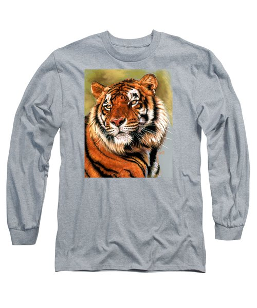 Power And Grace Long Sleeve T-Shirt by Barbara Keith