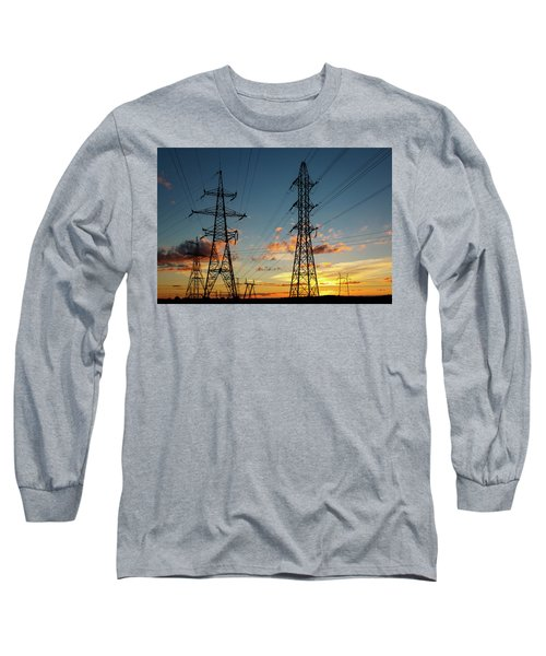 Power Cables Long Sleeve T-Shirt