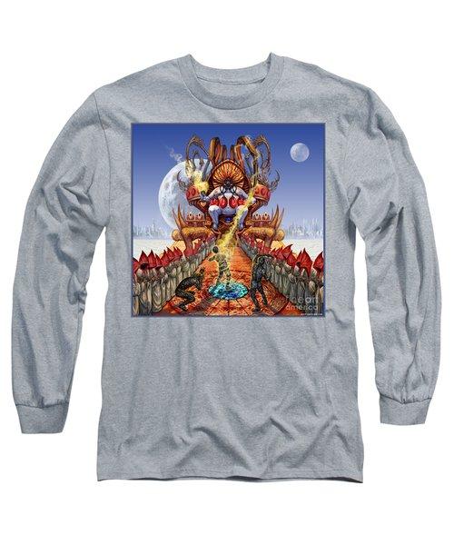 Powerless To Power Long Sleeve T-Shirt by Tony Koehl