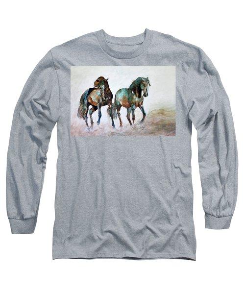 Prairie Horse Dance Long Sleeve T-Shirt