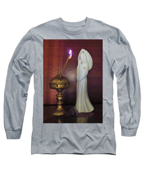 Long Sleeve T-Shirt featuring the photograph Prayer Petition by Denise Fulmer