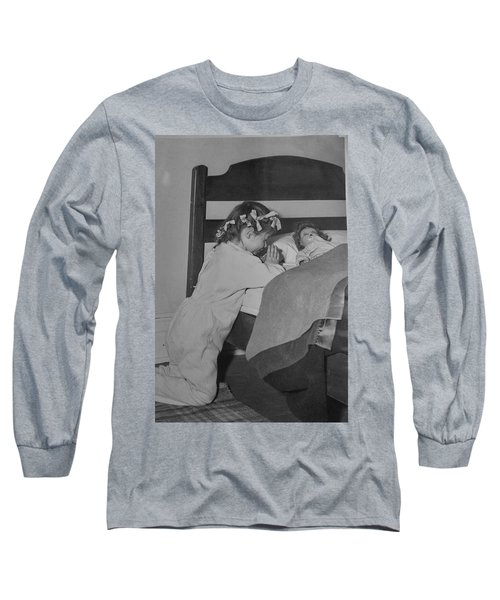 Praying Child Long Sleeve T-Shirt by Lenore Senior