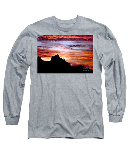 Praying Monk, Camelback Mountain, Phoenix Arizona Long Sleeve T-Shirt