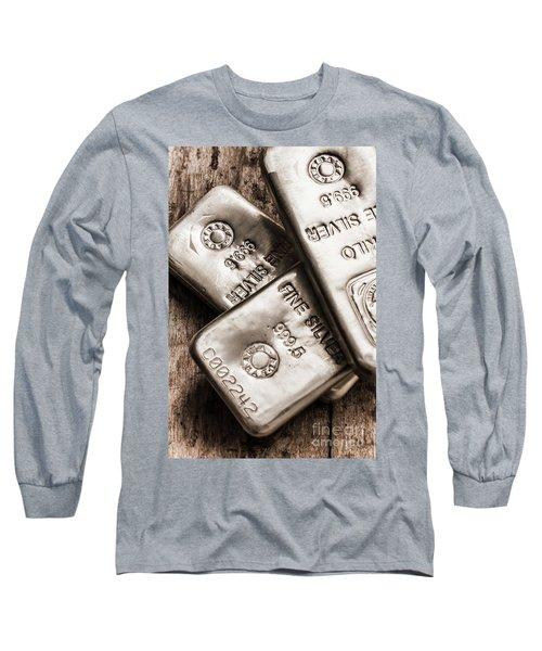 Precious Metal Art Long Sleeve T-Shirt