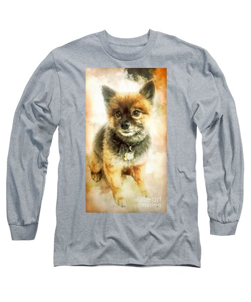 Precious Pomeranian Long Sleeve T-Shirt