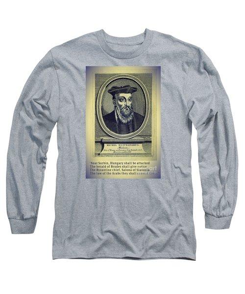 Predictions Of Nostradamus 4 Long Sleeve T-Shirt
