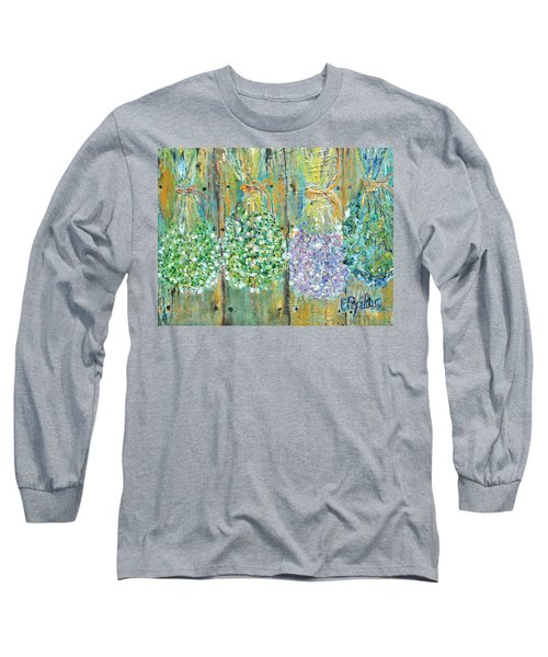 Preserved Herbs Long Sleeve T-Shirt by Evelina Popilian