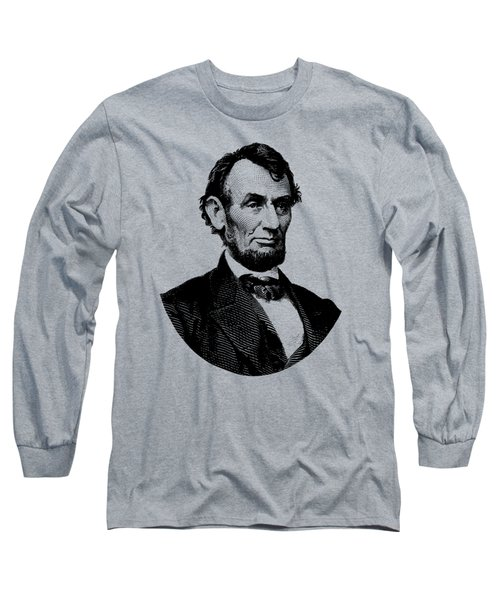 President Abraham Lincoln Graphic Long Sleeve T-Shirt by War Is Hell Store