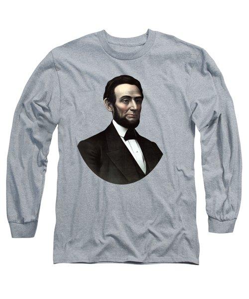 President Abraham Lincoln  Long Sleeve T-Shirt