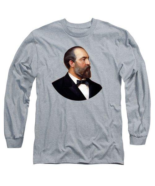 President James Garfield Painting Long Sleeve T-Shirt