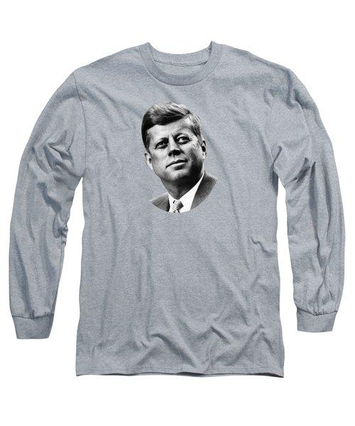 President Kennedy Long Sleeve T-Shirt