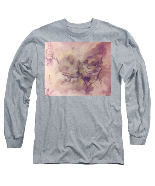 Long Sleeve T-Shirt featuring the painting President Trump by Raymond Doward