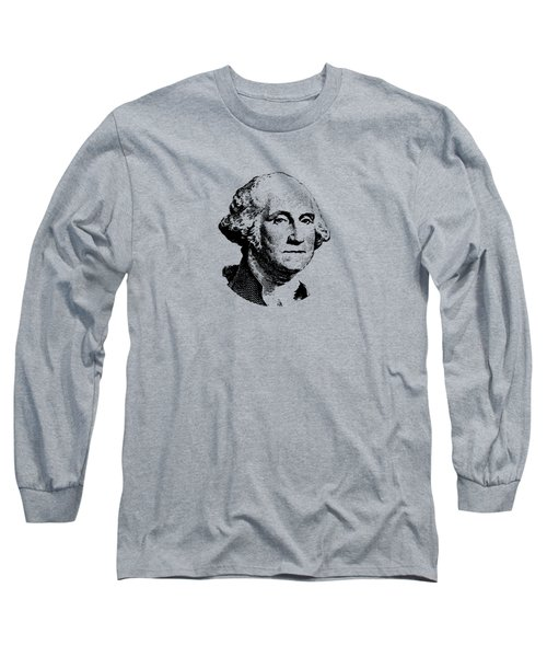 President Washington Long Sleeve T-Shirt by War Is Hell Store