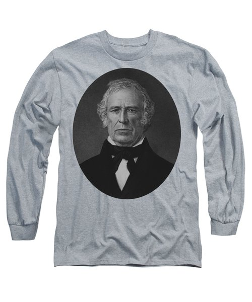 President Zachary Taylor - Vintage Portrait Long Sleeve T-Shirt