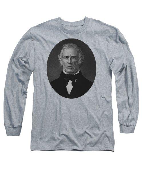 President Zachary Taylor - Vintage Portrait Long Sleeve T-Shirt