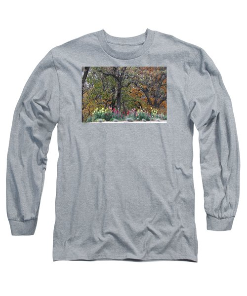 Pretty Display Long Sleeve T-Shirt by Yumi Johnson