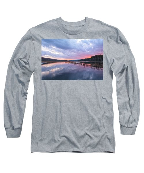 Pretty In Pink Long Sleeve T-Shirt by Angelo Marcialis