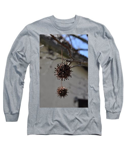 Prickly Liquidamber Pod Long Sleeve T-Shirt