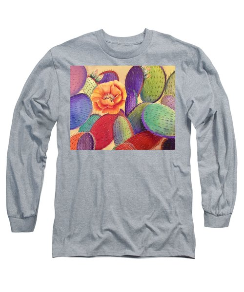 Prickly Rose Garden Long Sleeve T-Shirt