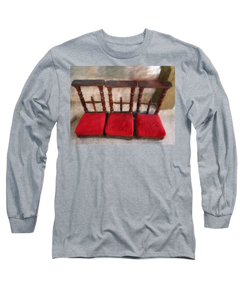 Prie Dieu - Prayer Kneeler Long Sleeve T-Shirt