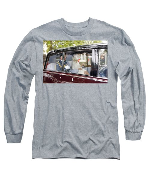 Prince Charles And Camilla Long Sleeve T-Shirt by KG Thienemann