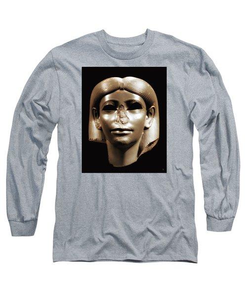 Long Sleeve T-Shirt featuring the photograph Princess Sphinx by Nigel Fletcher-Jones
