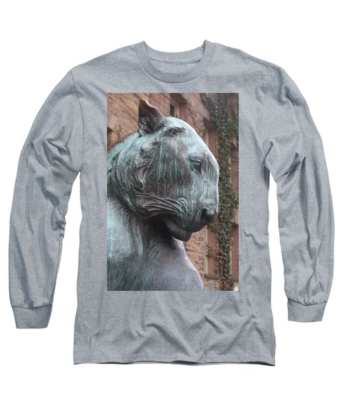 Long Sleeve T-Shirt featuring the photograph Princeton Tiger by Vadim Levin