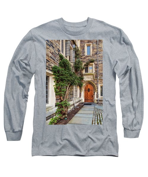 Long Sleeve T-Shirt featuring the photograph Princeton University Foulke Hall II by Susan Candelario