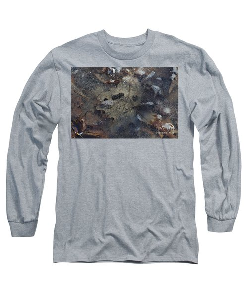 Long Sleeve T-Shirt featuring the photograph Prisoner Of The Ice by Cendrine Marrouat