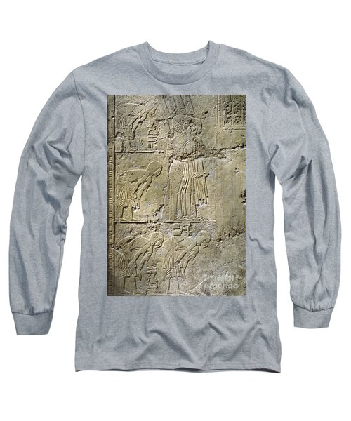 Private Tombs -painting West Wall Tomb Of Ramose T55 - Stock Image - Fine Art Print - Thebes Long Sleeve T-Shirt