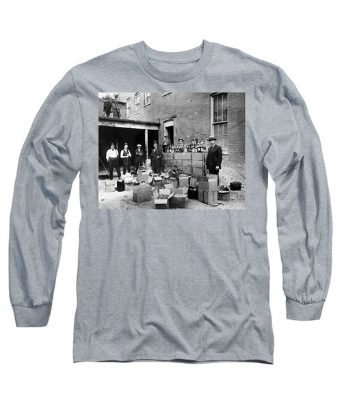 Prohibition, 1922 - To License For Professional Use Visit Granger.com Long Sleeve T-Shirt