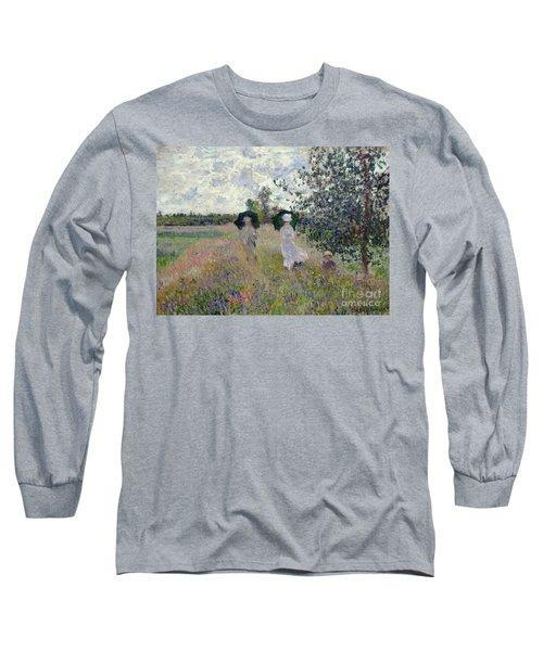 Promenade Near Argenteuil Long Sleeve T-Shirt