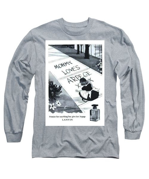 Long Sleeve T-Shirt featuring the digital art Promises by ReInVintaged
