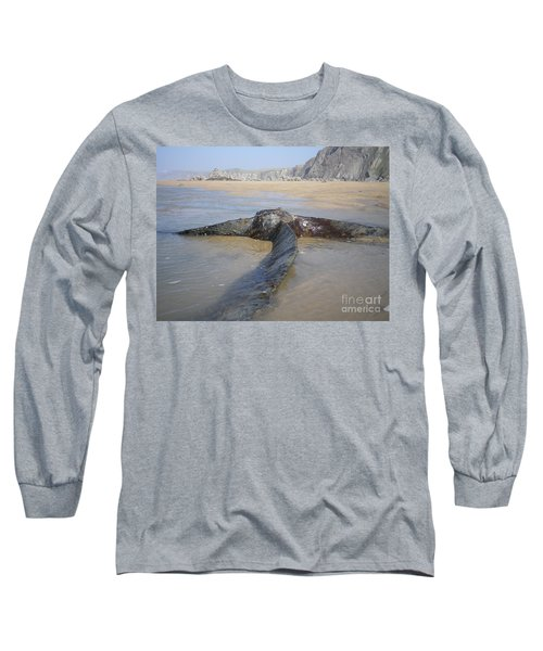 Propeller Steamship Belem Shipwreck Long Sleeve T-Shirt by Richard Brookes