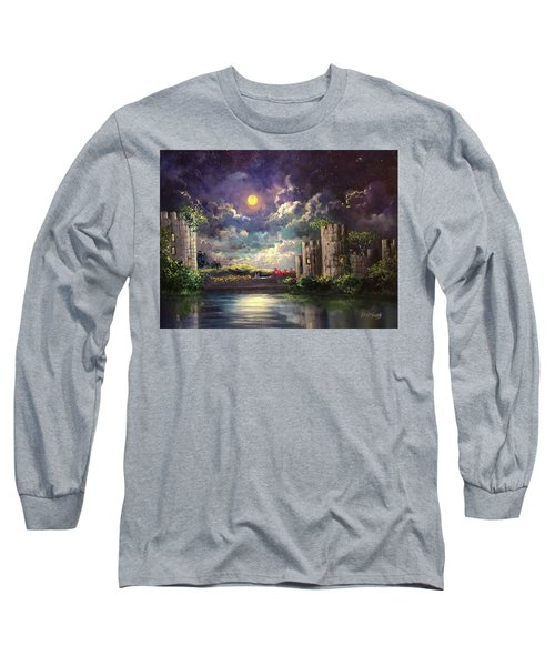Proposal Underneath The Moon Long Sleeve T-Shirt