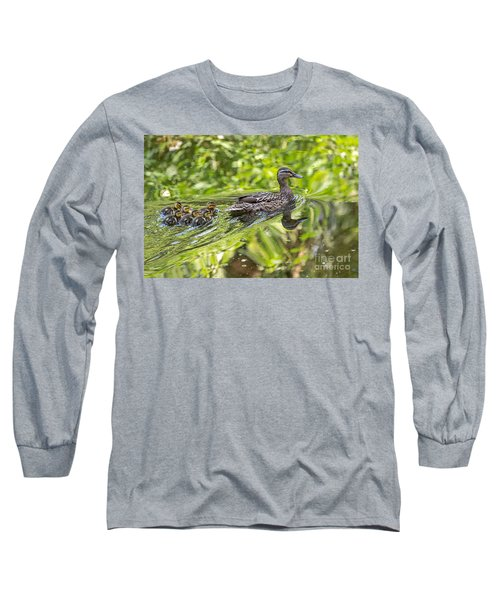 Long Sleeve T-Shirt featuring the photograph Proud Mama by Kate Brown