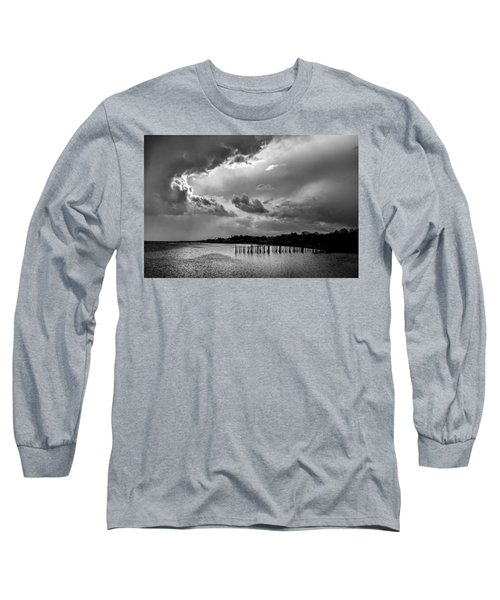 Long Sleeve T-Shirt featuring the photograph Provincetown Storm by Charles Harden