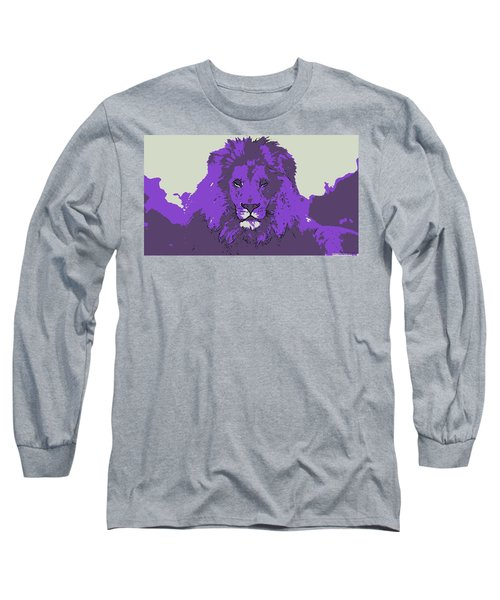 Pruple King Long Sleeve T-Shirt