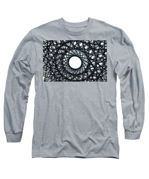 Psychedelic Concentric Circle Long Sleeve T-Shirt