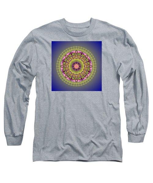 Psychedelic Mandala 001 A Long Sleeve T-Shirt
