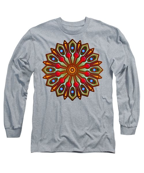 Psychedelic Mandala 012 A Long Sleeve T-Shirt
