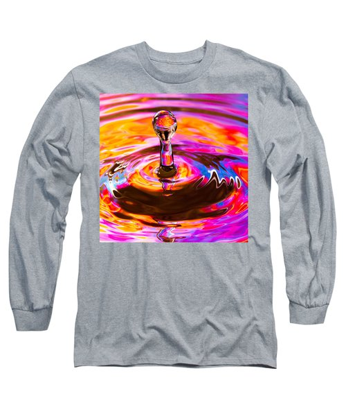 Psychedelic Water Drop Long Sleeve T-Shirt