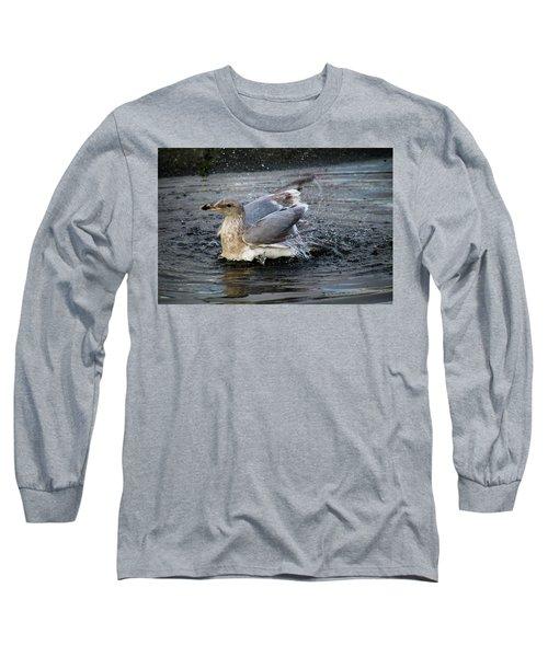 Puddle Bath Long Sleeve T-Shirt