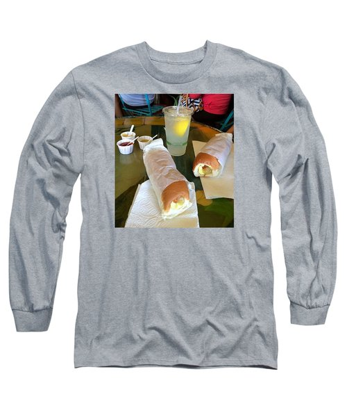 Long Sleeve T-Shirt featuring the photograph Puka Dogs by Brenda Pressnall