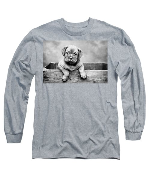 Puppy - Monochrome 3 Long Sleeve T-Shirt