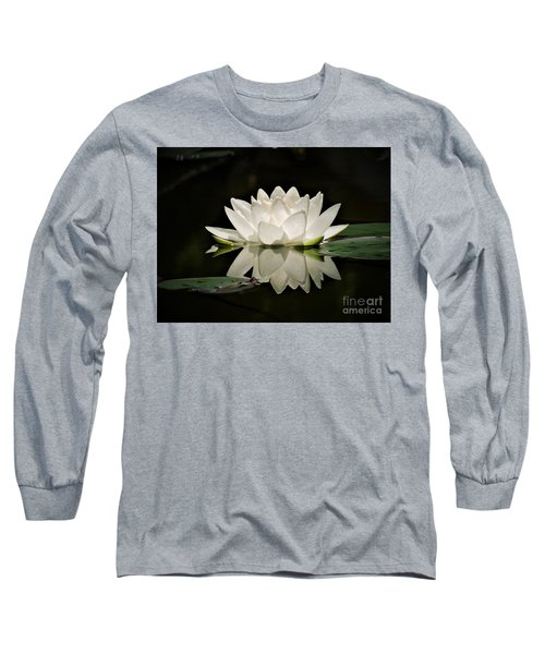Pure And White Long Sleeve T-Shirt