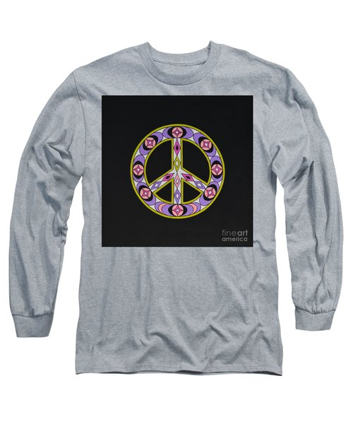 Pure Peace Long Sleeve T-Shirt by Joseph Sonday