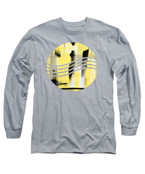 Pure Spirit Abstract Long Sleeve T-Shirt by Christina Rollo