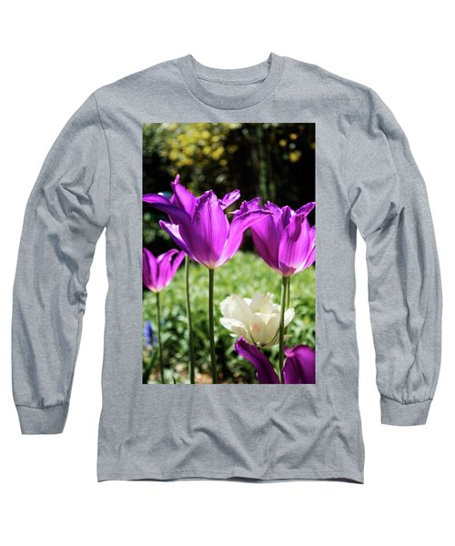 Purple Cups Long Sleeve T-Shirt